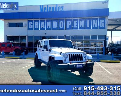 Used 2016 Jeep Wrangler Unlimited 4WD 4dr Sahara