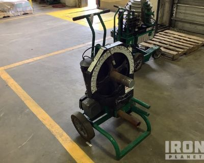 2014 (unverified) Greenlee 555DX Electric Conduit Bender