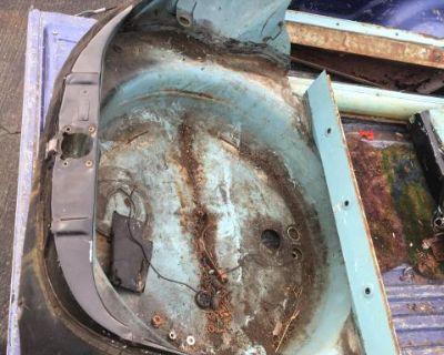 Super Spare Tire area front clip apron