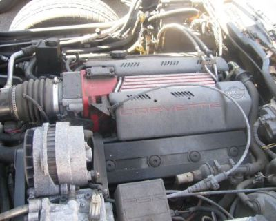1996 Corvette C4 Complete Lt4 Engine With Zf 6 Speed Trans And Computer