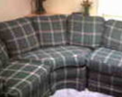 It Ain t Easy Being Green Sectional Sofa Needs New Home