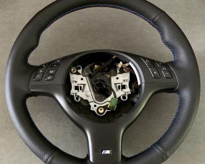 FS: Freshly Re-covered M Steering Wheel
