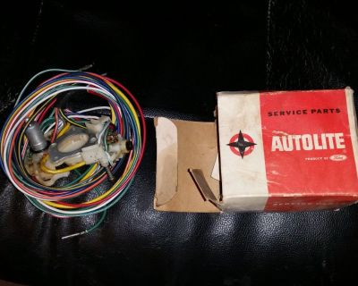 NOS C7ZZ13341F 1967 Mustang cougar Turn Signal Switch non-tilt Steering AUTOLITE
