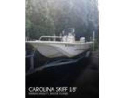 18 foot Carolina Skiff JVX Center Console