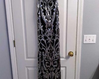 Formal strapless dress (XS)