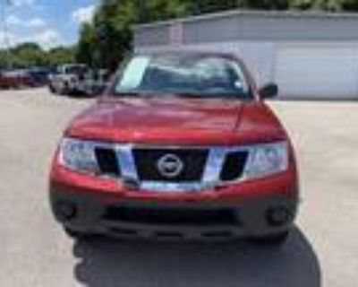 2021 Nissan frontier Red, 69 miles