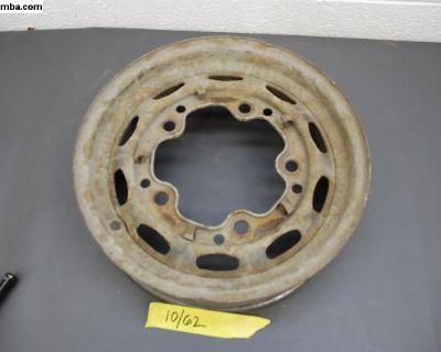 10/62 KPZ Porsche 356 Steel Wheel 15x4.5
