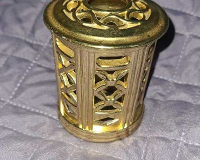 Gold ornate paperweight