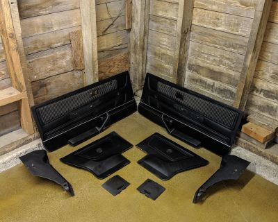 FS Cabriolet Interior Parts (Door Cards, Dash, Console, Cluster, etc.)