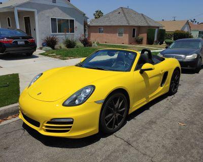 """2014 Porsche Boxster PDK // Racing Yellow // Black Interior // 20"""" Wheels // BOSE"""