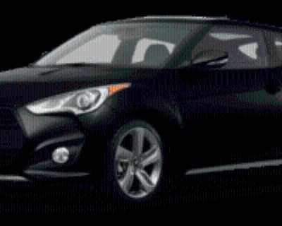 2013 Hyundai Veloster Turbo with Blue Interior Manual