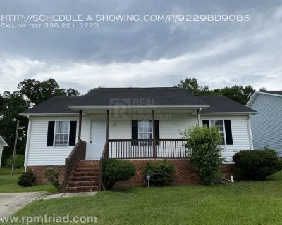 Coming soon! 3BR/2BA Home in High Point!