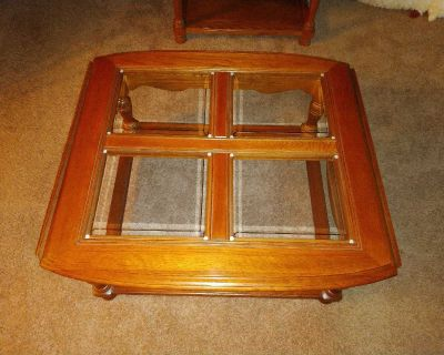 (2) End Tables & Coffee Table