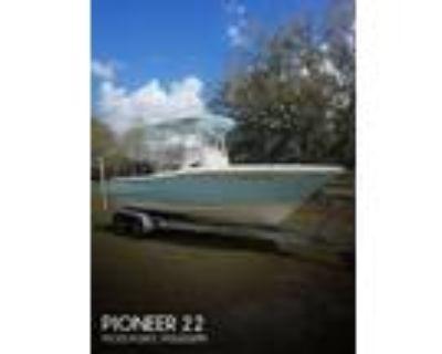 22 foot Pioneer 22