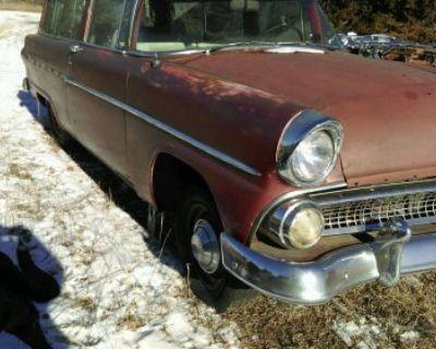 1955 55 56 Ford 2 Door Ranch Wagon Nr Project Barnfind Ratrod