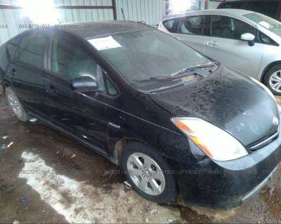 Salvage Black 2006 Toyota Prius