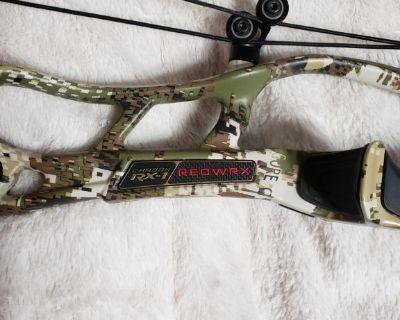 Hoyt carbon rx1 redwrx bow