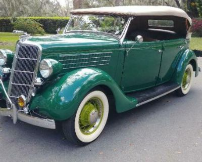1935 Ford Phaeton 4-door All-Steel Convertible Deluxe Flathead V8 Original Restored