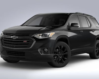 New 2021 Chevrolet Traverse RS Front Wheel Drive SUV