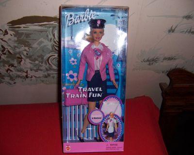 2001 Travel Train Fun Barbie-Mattel, NEW in box