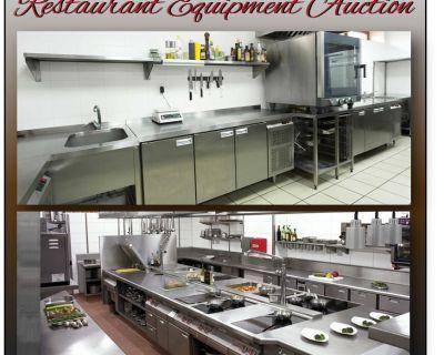 New/Used Restaurant Equipment Auction