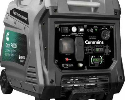 Onan Cummins P4500i Inverter Generator