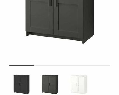 ISO Brimnes Cabinet in Gray from IKEA