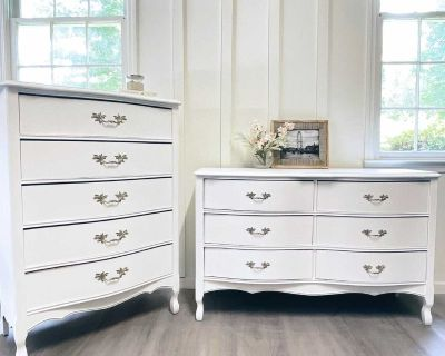 French Provincial 2 piece set
