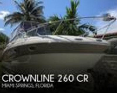 26 foot Crownline 260 CR