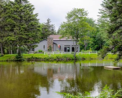 New listing! Family & dog-friendly home w/ WiFi, Netflix streaming, & a pond! - Mad River Valley