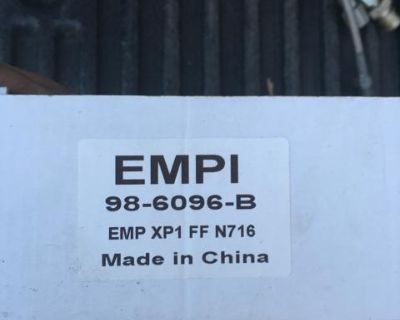 Rear brake shoes 68-79 new empi 98-6096-b