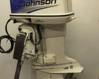 """1998 Johnson 112-hp Spl 2 Stroke Outboard Motor 20"""" 115 125 150"""