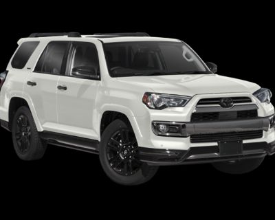 New 2021 TOYOTA 4Runner 4WD Limited Night Shade (V6) 4 door Four Wheel Drive