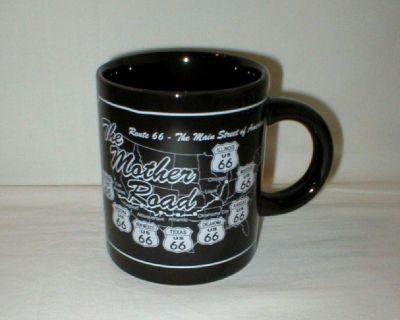 Rt 66 The Mother Road Main Street of America Coffee Mug Cup
