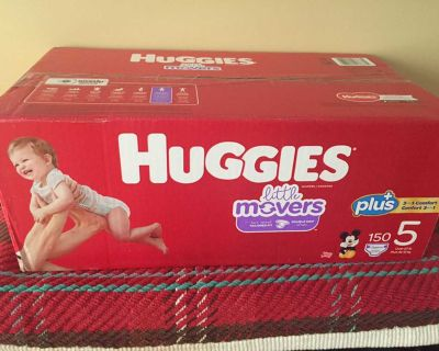 Huggies little movers plus Size 5