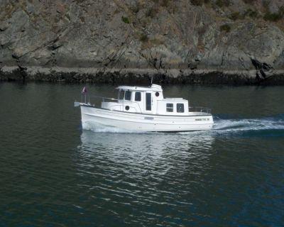 """2023 28'9"""" Nordic Tugs 26"""