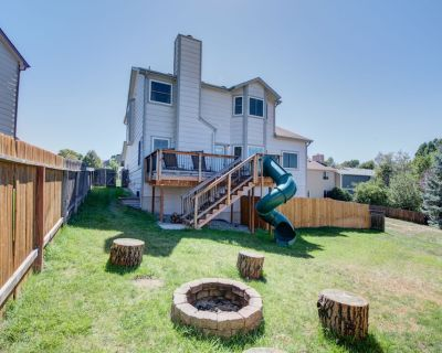 Beautiful Family Vacation Dream Slide Firepit Grill Park Hiking - Woodmen Valley