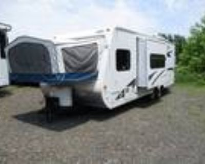 2011 Jayco Jay Feather EXP 23B Sofa/Bed Slide, Front & Rear Bed Ends