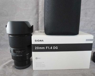 Sigma 20 mm Sony Full Frame E-mount