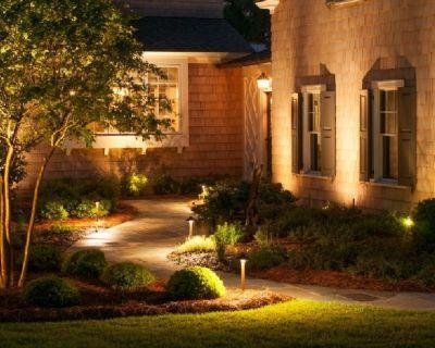 Landscape lighting specialist-Illuminated Gardens