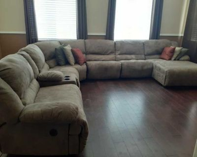 Donate! Sectional couch