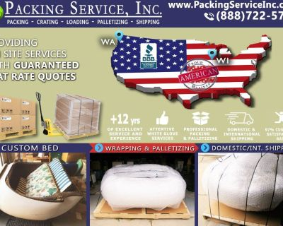Packing Service, Inc. Portland, OR - Industrial Wrapping, National Shipping, Load and Unload