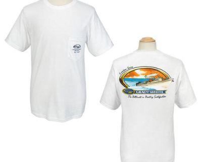 Grady White Boats Adult Gildan T-shirt W/pocket Freedom Series
