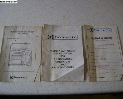 vanagon dometic fridge manuals