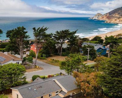 Beach, Ocean & Scenic Views Home | Walk to the Beach, Trails, Food, More - Montara