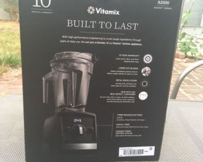 Vitamix Ascent 7500 Blender (Black) Brand New Never been opened