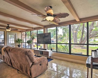 NEW! Waterfront Home w/ Game Room, 2 Mi to Beach! - Pinellas County