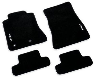 2015-2019 Ford Mustang ROUSH Embroidered Black Floor Mats