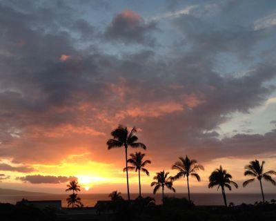 SPECTACULAR SUNSET OCEAN VIEW IN WAILEA EKOLU#607 -COVID Sterilization Protocols - Wailea