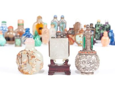 Up To Snuff: Rubin Family Chinese Snuff Bottles